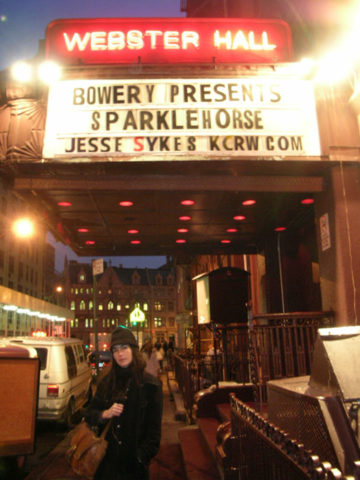 NYC Webster Hall 2007