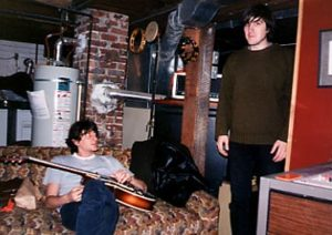 recording Reckless Burning with Tucker Martine early days